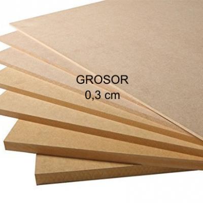 Nombres de madera de 0,3 cm Grosor