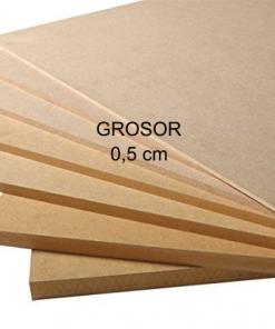 Nombres de madera de 0,5 cm Grosor