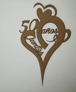 Topper 50 aniversario