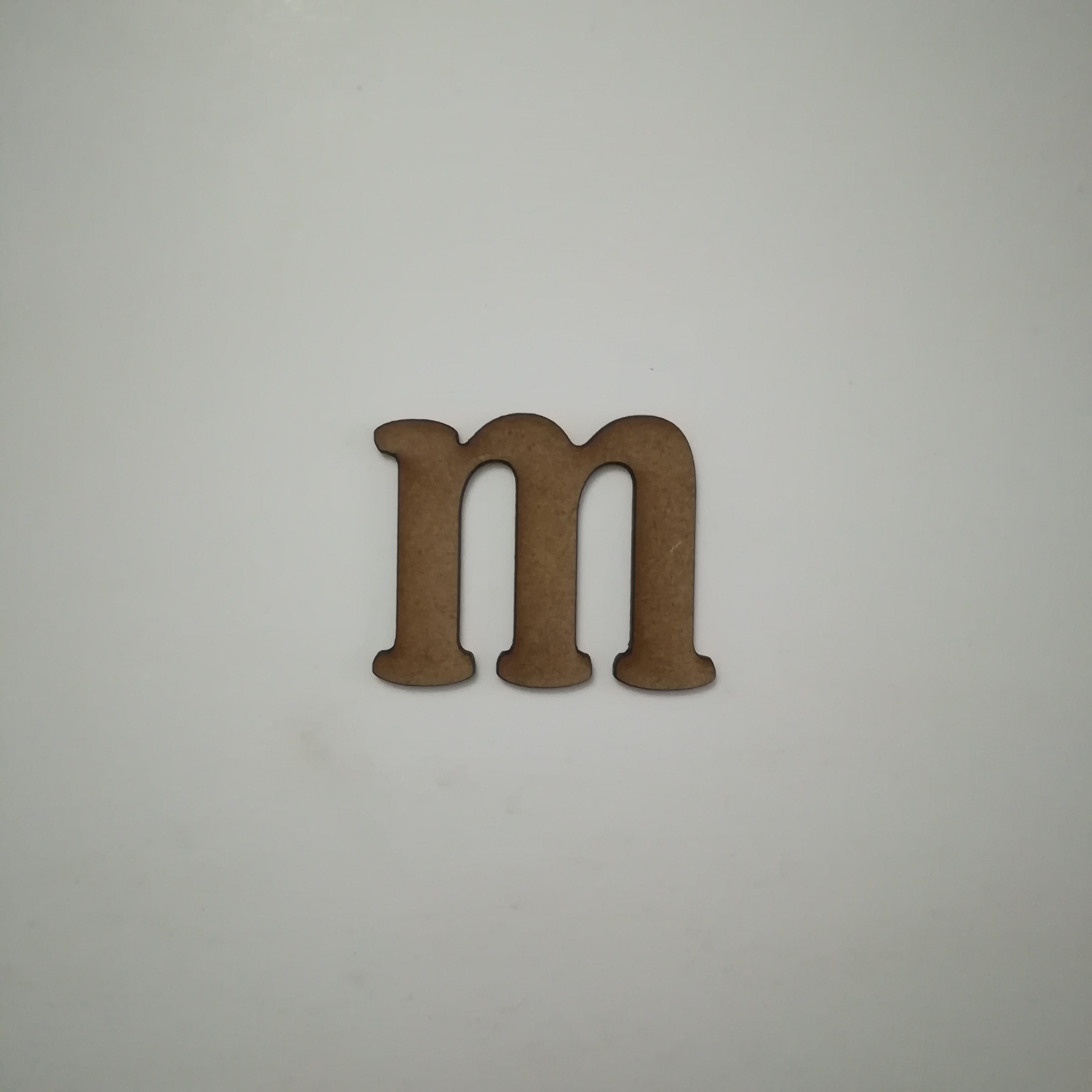 Letra M cuatrotrece minuscula