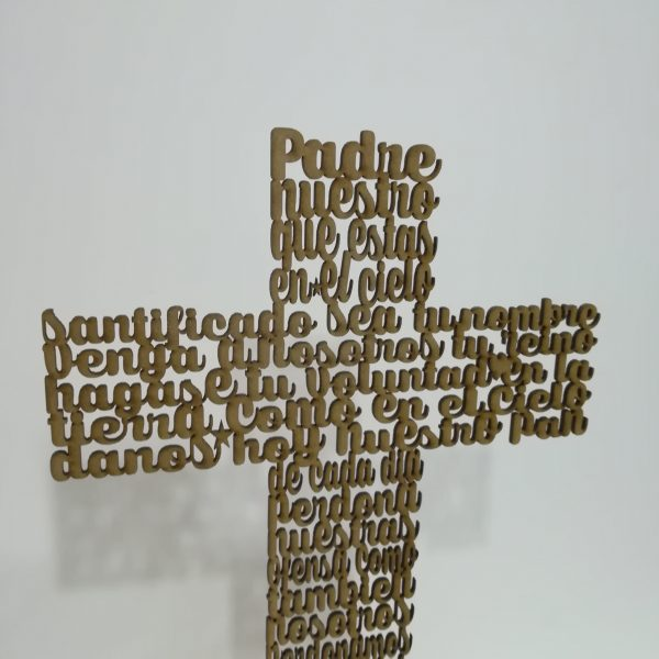Cruz «Padre Nuestro»