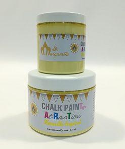Pintura de Tiza color Amarillo tropical – serie «AtRacTiva»