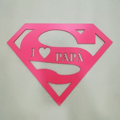 Silueta super I LOVE PAPA
