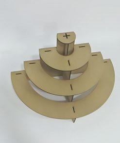 Base semi-circular para cup cakes y Candy Bar