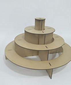 Base circular para cup cakes y Candy Bar