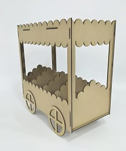 Carrito Candy buffet tipo nubes