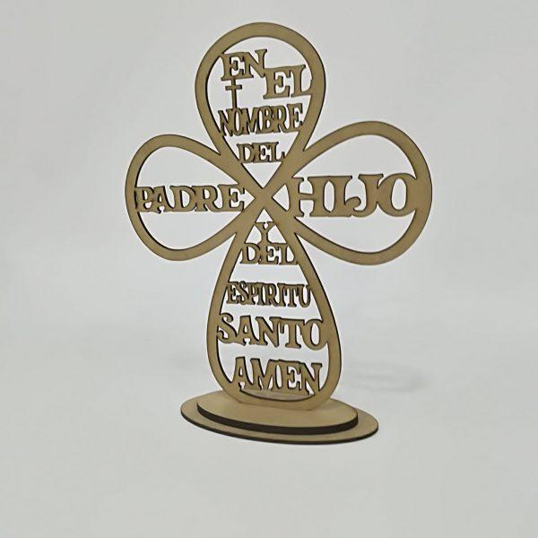 Cruz «En el nombre del Padre y del hijo»