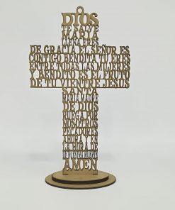 """Cruz """" Ave María """""""