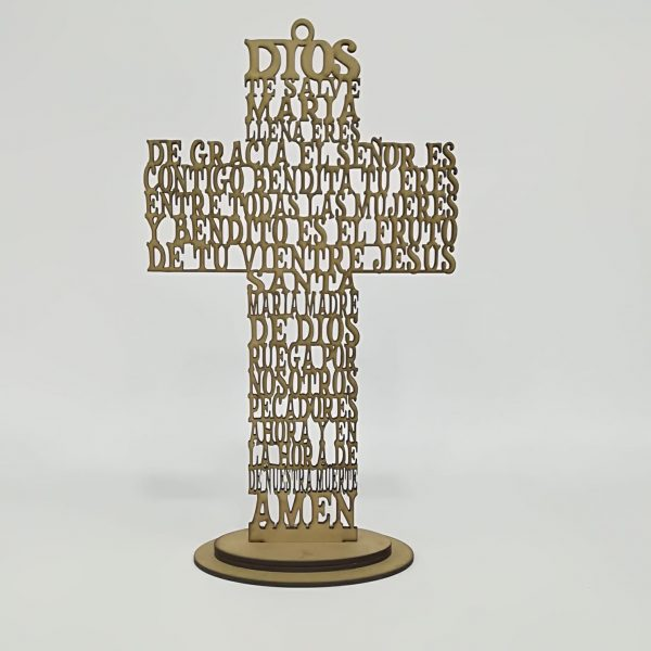 Cruz » Ave María «