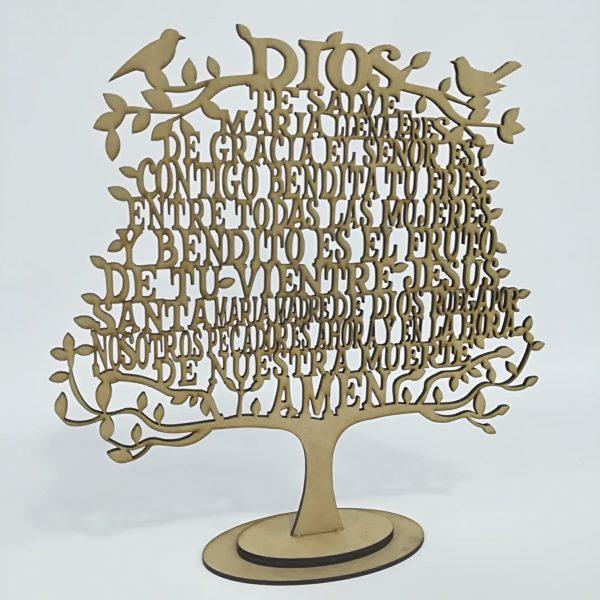 árbol del Ave María