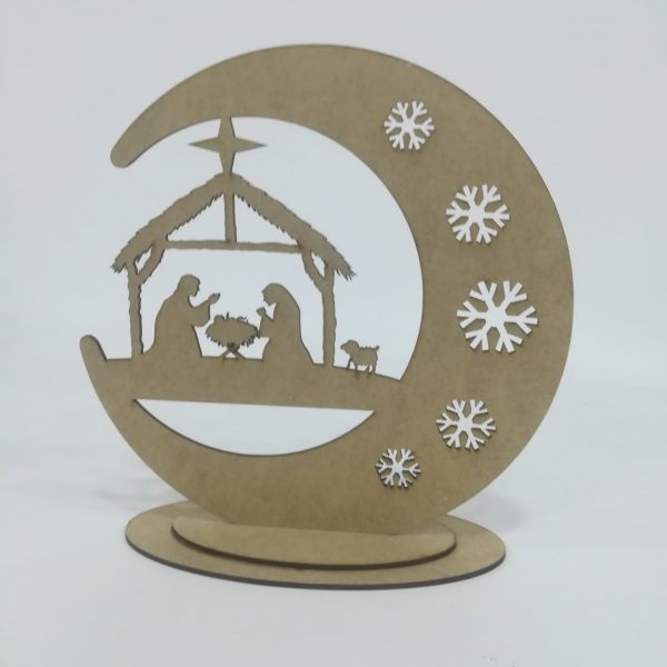 Bola mágica Navidad Portal de Belén