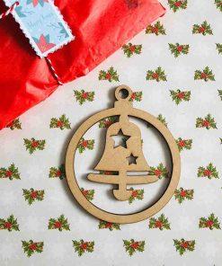 Bola de Navidad Campana