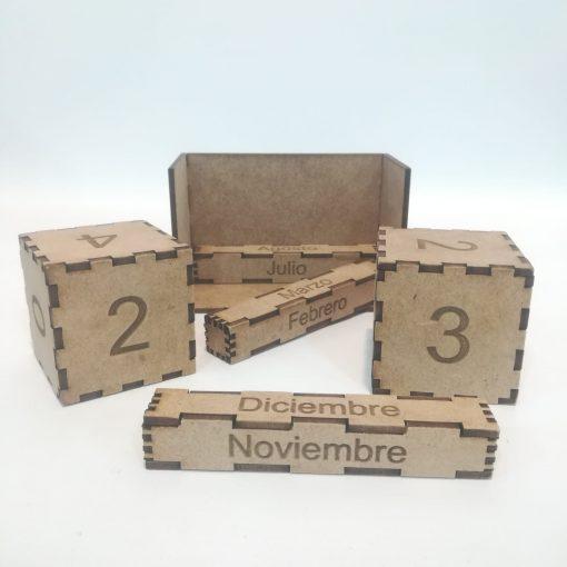 Calendario Perpetuo de cubos