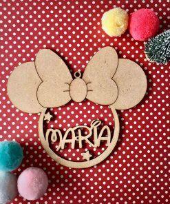 Bola de Navidad de Minnie Mouse