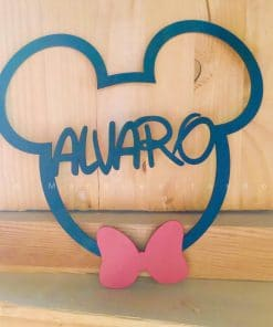 Silueta Mickey personalizada